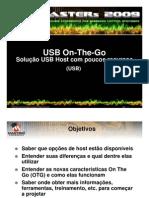 USB On-The-Go Solução USB Host com poucos recursos