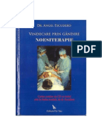Noesiterapie Vindecarea Prin Gandire Dr Angel Escudero