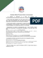 Avaliação_Módulo Processo Criativo Na Comunicação