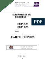 Carte Tehnica Ierbicidator_EEP 300EEP 400