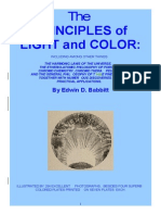 Principles of Light and Color Edwin Babbitt