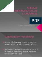 ANEMIAS DISERITROPOYETICAS CONGENITAS