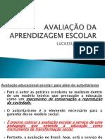 avaliaodaaprendizagemescolar-130910223847-phpapp01