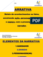 Slides Elementos Da Narrativa