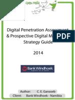 Bank Windhoek - Digital Penetration Assessment & Prospective Digital Marketing Strategy
