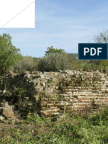 Ottana (NU) La piscina limaria in Regione S'Ortu 'e sos Vanzos