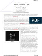 A Photo Essay on Light Jean Rosenthal e Lael Wertenbaker