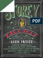 Storey Publishing Fall 2014 Catalog