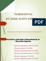Normativas en Educacion Especial ULARE