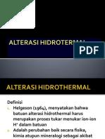 2.Alterasi Hidrotermal(1)