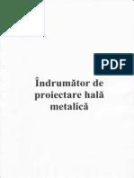 Indrumator Proiectare Hala Metalica
