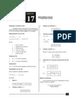 Progresión Aritmética, Geométrica