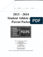 athletic packet pgcps