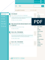 Very old Scribd browse page design
