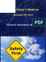 Patient Safety in Medicine - IHQN 2013_sesi B4