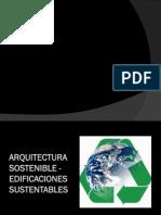 PPT Arquitectura Sostenible Arq. Carlos Zanelli