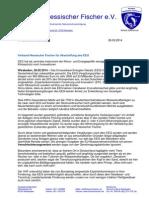 Verband Hessischer Fischer für Abschaffung des EEG