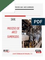 7. Proceso SAW - Arco Sumergido