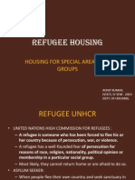 Refugee Housing in India
