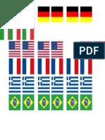 Bandeiras Sandubas