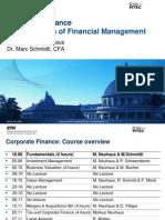 CF I Fundaentals of Financial Management Winter Term 2009