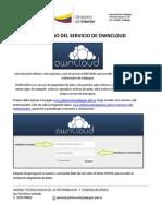 Owncloud Manual para usuario final