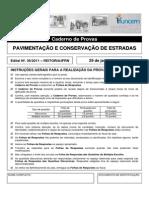 P30 - Pavimentacao e Conservacao de Estradas