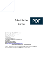 Roland Barthes Overview.pdf