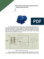 Starting Star - Delta Motor Induksi Tiga Phasa berbasis Mikrokontroller ATMEGA128