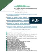 Competencia Estructurar Sistemas de Gestión Ambiental Siguiendo Normatividad Ambiental