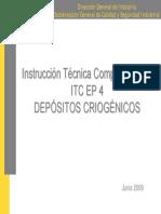 Itc Ep4 Depositos Criogenicos