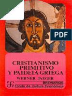 Cristianismo Primitivo Paideia Griega