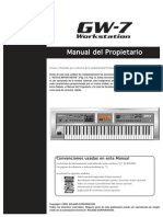 GW-7 Manual Del Propietario