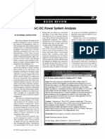 Book Review Ac-dc Power System Analysis