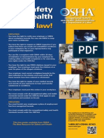 OSHA'S free workplace poster