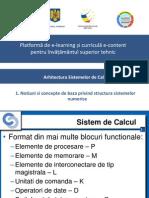 1. Notiuni Si Concepte de Baza Privind Structura Sistemelor Numerice