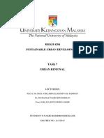 Urban Renewal Reshminder Kaur