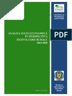Analiza Dezvoltarii Rurale Agricultura Iulie 2013