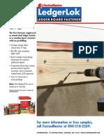 LedgerLok Installatio Details