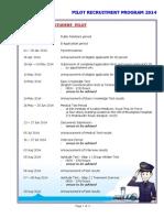 Pilot Recruitment Program 2014 Student Pilot