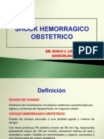 Shock Hipovolemico Obstetrico