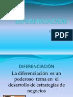 DIFERENCIACIÓN