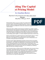 3Revisiting the Capital Asset Pricing Model
