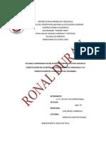 Estudio Comparado Entre La Constitucion de Venezuela y Colombia.