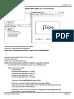 Jtable Con Base de Datos