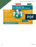 Infografía de la Reforma en Materia de Violencia Escolar