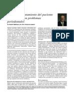 Ortodoncia - Periodoncia Pos TX