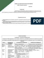 Dosificacion Maestra Rosario - Planeacion Educativa 2 Actualizado