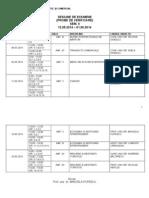 Sesiune Examene Mtc Sem II 2014 2 Zi,Fr 3 Zi,Fr