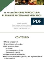 El Pilar de Acceso a Los Mercados - CRPC Bogota 11-03-10